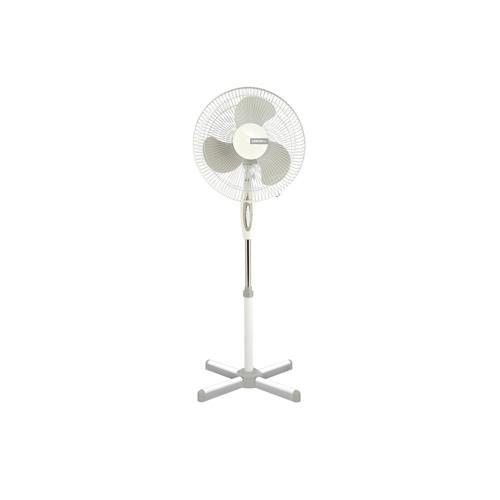 Вентилятор напольный Centek CT-5004 Gray, 40Вт, (2шт./уп, LED, 43см, 1.25м, лучевая решетка
